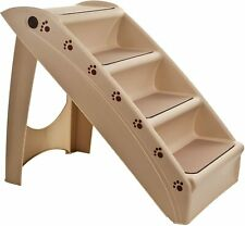 Dog Steps Folding Pet Stairs Portable Great for Dogs Stairs Tall High Bed Car