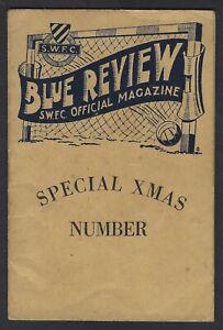 Malta Football Booklet Sliema Blue Review 1950 Vol. 1 No. 3