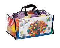 100 Spielbälle für Bällebad | Intex 49602 | Bälle für Kinder Kugelbad | Babyball