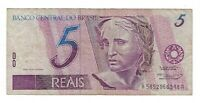 5 Reais Brasilien 1995 AA C267 / P.244g - Brazil Banknote