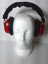Vintage Winston Cup Series Retro Red AM/ FM Radio Headset Headphones