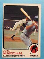 1973 Topps Juan Marichal Card #480 San Francisco Giants