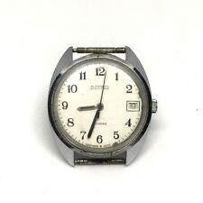 Vintage Soviet USSR Mechanical Watch Vostok 1980s Date Calendar