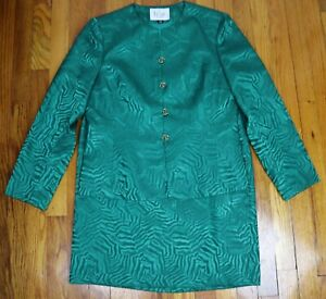 WOMEN'S GREEN SKIRT SUIT - LE SUT - SIZE 10P