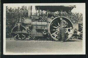OR Portland RPPC '15 BUFFALO SPRINGFIELD STEAM TRACTOR ROLLER Columbia River Hwy