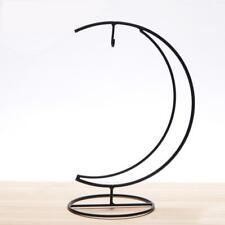 Fashion Candle Holder Handmade Lantern Moon Shape Candlestick Ball Hanging Stand