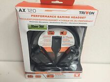 tritton ax 120 schwarz kopfbügel headsets
