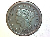 1853 Large Cent Very Nice Coin for Collection 81