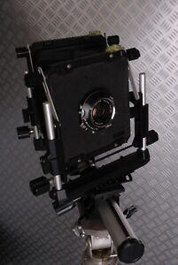 Chambre photographique 4x5 toyo view 35 + symmar 5,6 /150 + visée capuchon