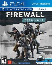 Firewall Zero Hour (Playstation 4, 2018) PS4