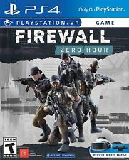 Firewall Zero Hour (Playstation 4, 2018) PS4