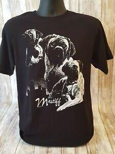 Mastiff  Silhouette T-Shirts New