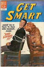 Get Smart  # 4  strict  VG Cover Don Adams Photo with dog
