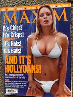 Maxim Men's Magazine - July 2000. Hollyoaks Special Geri/Joanne Taylor Cover