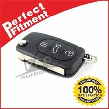 3 Buttons For Audi A2 A3 A4 A6 A8 TT Black Remote Key Fob Case Shell Blade HAA