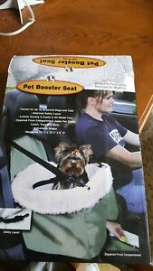 Dog Cat Seat Booster for Vehicles Pet Car seat Small and Medium Carrier