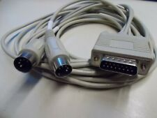 Midi Cable, Serial/ 2 x 5 Pole Din , Length Approx. 2,5 M, #K-84-1