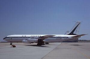 Air France Boeing 707-328 old colors F-BHSU 1978 - Kodachrome 35mm slide