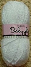 DK Knitting Wool 100g Baby Glitz DK Baby Yarn King Cole