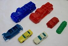 7 Vintage Plastic Toy Cars/Trucks - 2 Trucks are Hasbro