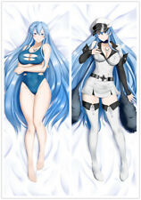 Dakimakura Akame Ga Kill! Esdeath Anime Girl Hugging Body Pillow Case Cover