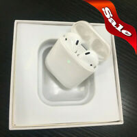 Refurbished AirPods 2nd Generation Bluetooth Earbuds with Wireless Charging Case