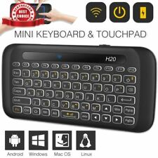 Mini Bluetooth Keyboard Mouse Backlit Touchpad Remote Control Android Wireless