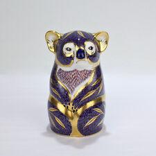 Vintage Royal Crown Derby Koala Bear Figural Paperweight - PC