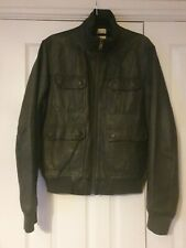 "Stone Wall Tailored Bomber Jacket Smart Casual Wool Blend Quality 46/"" Chest coat"