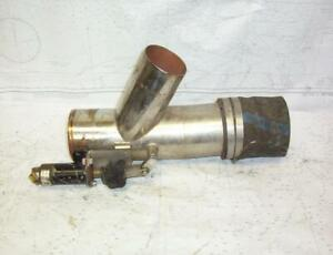 "Boaters' Resale Shop of TX 2102 4155.27 MERCRUISER 4"" SS EXHAUST CUT-OUT VALVE"