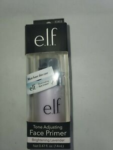 ELF Tone Adjusting Face Primer Brightening Lavender 83403 0.47 fl oz