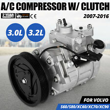 AC Compressor for Volvo V70 S80 XC60 S60 XC70 XC90 Fit Land Rover 67675 Motor