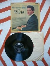 Elvis Presley His Hand In Mine Vinyl UK 1961 RCA Mono 2B2B RD.27211 LP Laminated