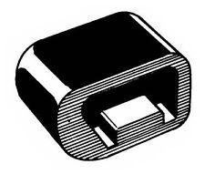 Mustang Folddown Seat Latch Bumpers Pair 1967 1968 1969 1970 - Daniel Carpenter