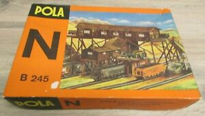 Vintage Pola N B245 Old Timer Coal Mine Model Kit Western Germany