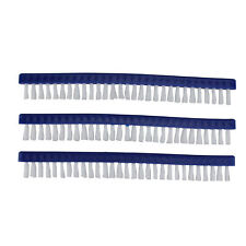 """Pool Central 3 Long Replacement Brushes For Pools and Spas Vacuum Head 9"""""""