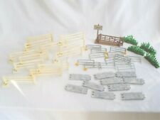 More details for collection of vintage britains farm fencing gates stone wall etc - fence