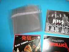 """High Quality OPP Resealable Plastic Bag 25 for 7"""" Single EP Size Japan"""