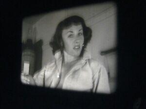 16MM FILM  - 1950s - SILENT - b/w -MODEL- # 22k