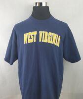 West Virginia University WVU Mountaineers Logo T-Shirt Men's Size: XL