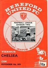 Away Teams Chelsea Division 2 Football Programmes