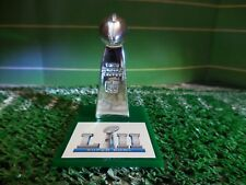 Super Bowl LII  Philedelphia Eagles Pocket Pro Mini Lombardi Trophy With Stand