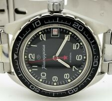 RUSSIAN VOSTOK KOMANDIRSKIE 020706 MILITARY AUTO WRIST WATCH  NEW