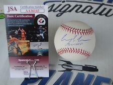 Squints Chauncey Leopardi The Sandlot signed OML baseball JSA COA