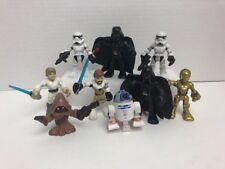 "Star Wars Galactic Heroes 2.5"" Mini Figures Lot Of 9"