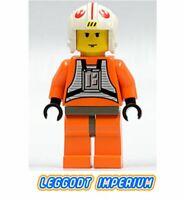 LEGO Minifigure Star Wars - Luke Skywalker X-Wing pilot original sw019 FREE POST