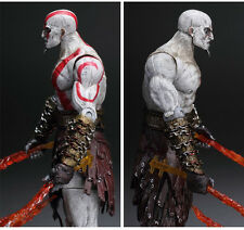 "7"" God of War 2 Kratos Flaming Blades of Athena PVC Action Figures Collector Toy"