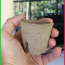 60mm Jiffy PEAT Plant Pot round - Pack of 60 Propagation