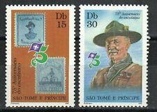 Saint Thomas & Prince Stamp - Boy Scouts, 75th anniversary Stamp - NH