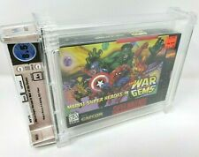 Marvel Super Heroes in War of the Gems Capcom Nintendo SNES New Sealed WATA 8.5